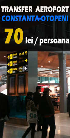 Transfer aeroport Constanta - Otopeni